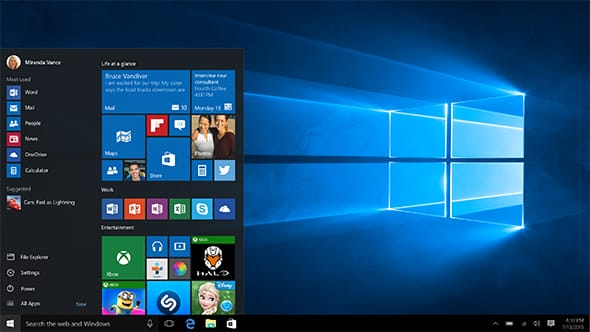 Grote update Windows 10